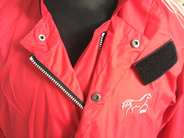 High Quality Red Riding Jacket