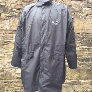 Black 100% Waterproof Riding Jacket